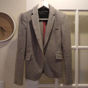 Zara Woman Grey Blazer